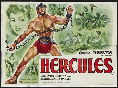Image result for hercules steve reeves