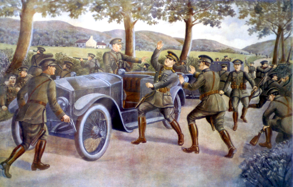 michael collins death in beal na