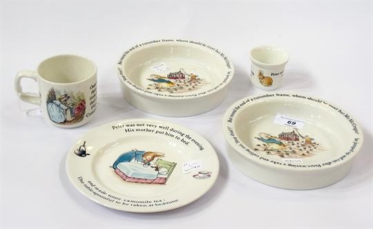 : peter rabbit baby plate set - pezcame.com