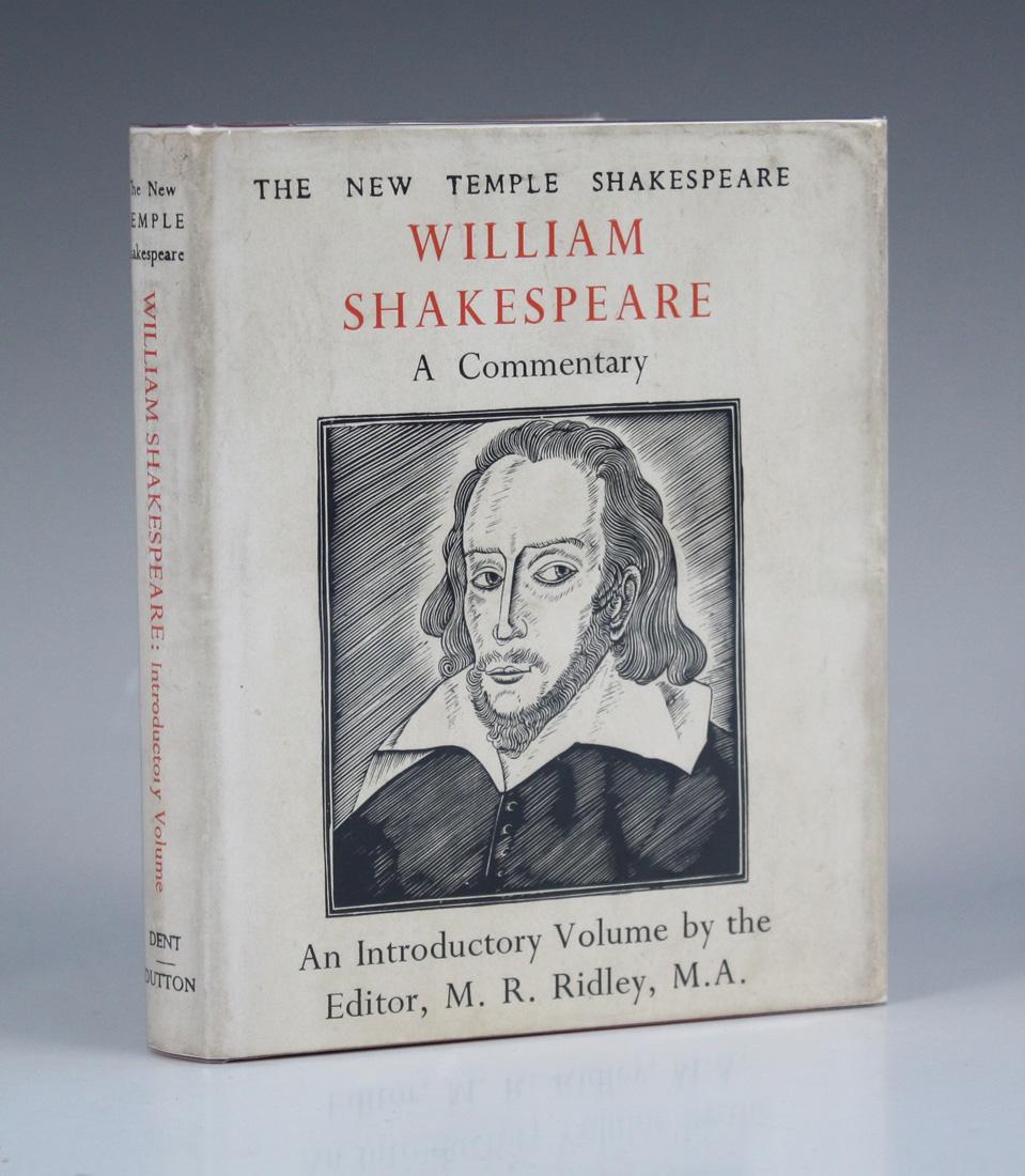 Lot 3144 - GILL, Eric (illustrator). – William SHAKESPEARE. The New Temple Shakespeare. London & New York: