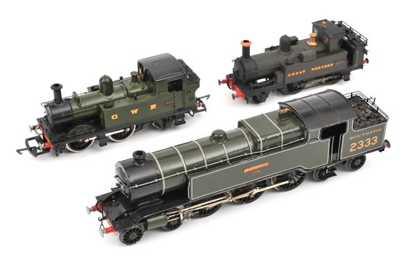 3 OO gauge kit built locomotives. Southern Railway ex LBSCR Baltic Tank 4-6-4T locomotive, ?