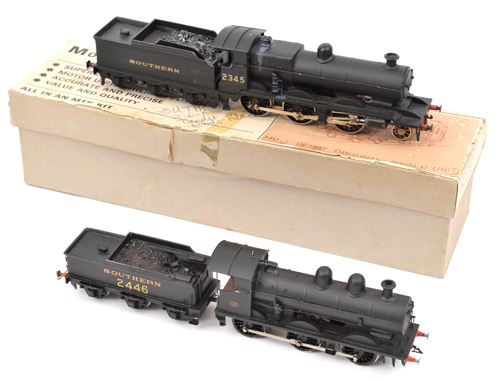 Lot 347 - 2 kit built OO gauge Southern Railway locomotives. Ex LBSCR Billington K class 2-6-0 tender