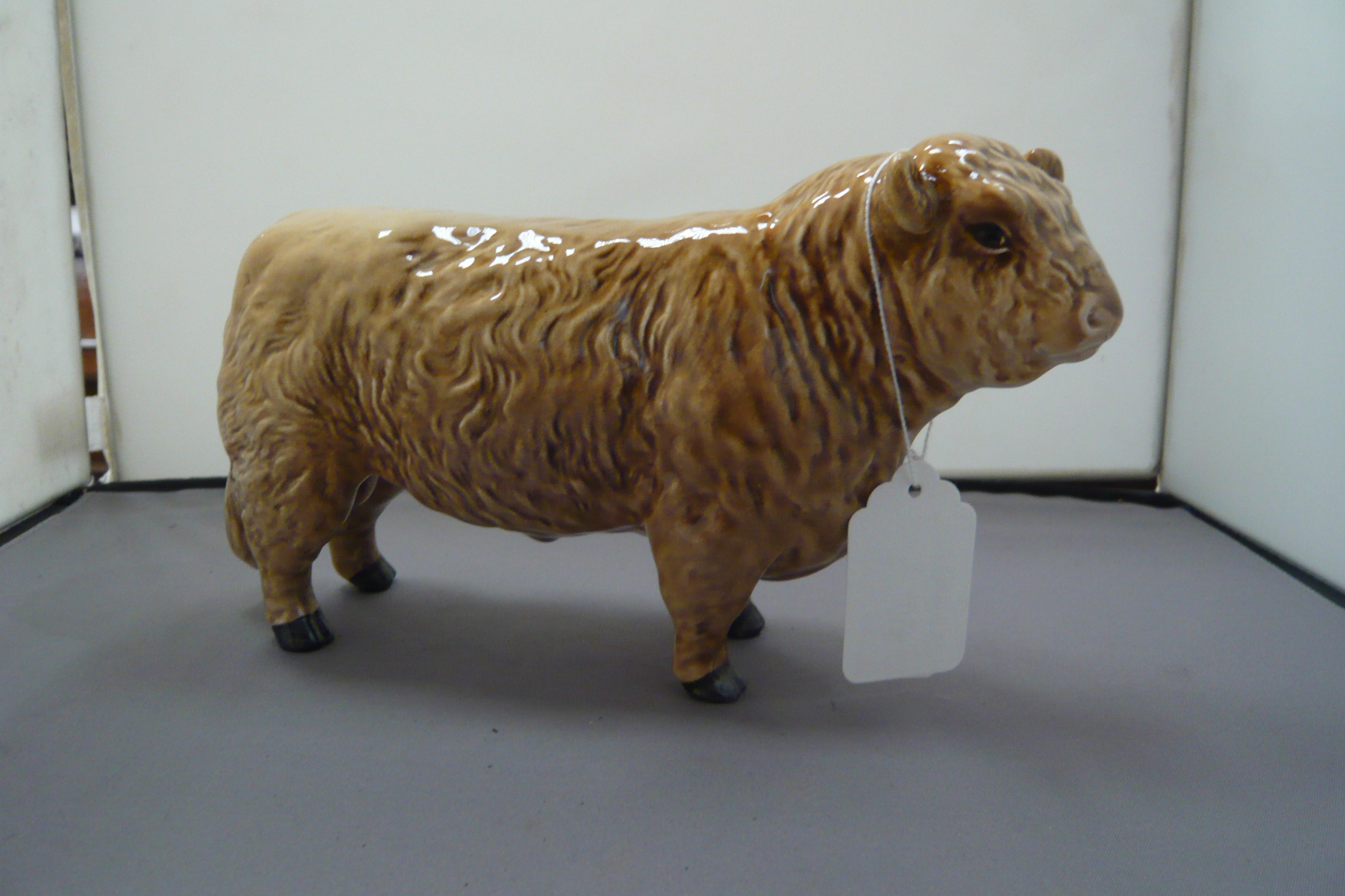 Lot 149 - A Beswick Galloway bull silver - Dunn 1746C
