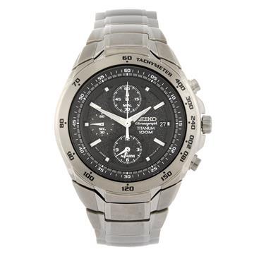 Seiko A Gentlemans Chronograph Bracelet Watch Numbered 7t62 0hr0