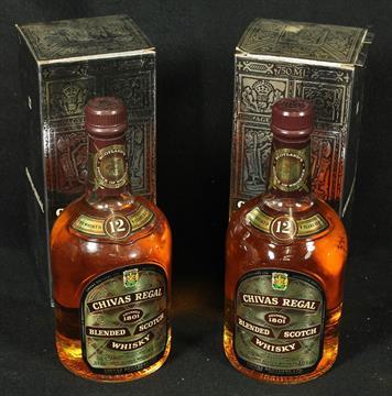 Dating A Bottle Of Chivas Regal