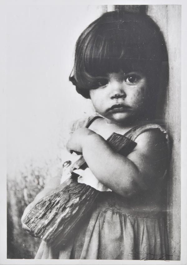 Lot 797 - *Korda (Alberto, 1928-2001). La ni?a de la mu?eca de palo (Girl with a wooden doll), [1959], vintage