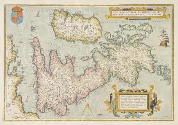 Lot 112 - British Isles. Ortelius (Abraham), Angliae, Scotiae et Hiberniae, sive Britannicar Insularum