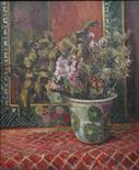 Lot 247 - Duncan Grant (British, 1885-1978): Floral still life, oil on panel, signed upper right & dated '