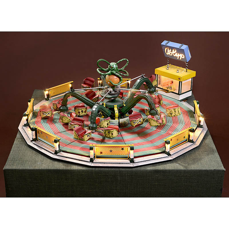 Working Model Of A Carousel Octopus Ride Model