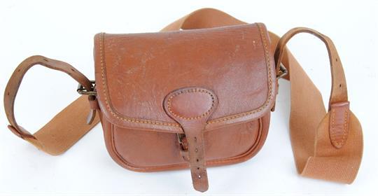 Brady leather cartridge bag for 50