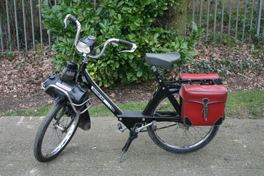 1974 French Motobecane Solex motorised bicycle with 49cc two