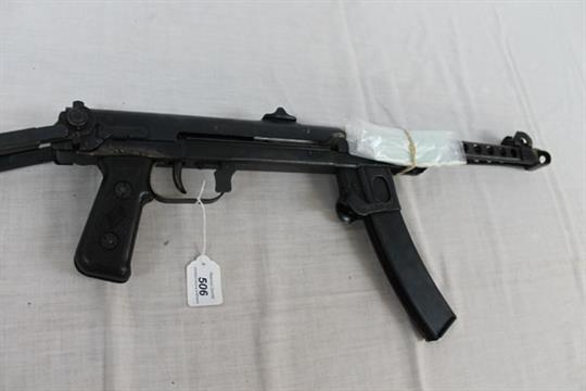 Russian 7 92mm calibre PPS-43 submachine gun no  3333, with