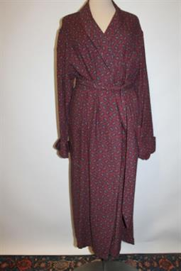 Austin Reed Gentlemen S Vintage Dressing Gown Red And Blue Paisley Chest 40 Inches Viyella Tr