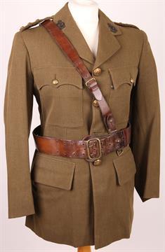 British Army WW2 uniform, Captain Dr Bennett Officer`s No2