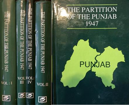 INDIA - VOLUMES ON THE PARTITION OF INDIA - The Partition of