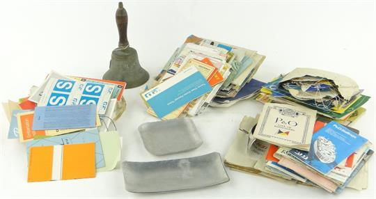 A large quantity of Cruise memorabilia and ephemera including an SS