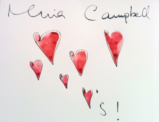 "Lot 56 - Nina Campbell """"Nina Loves"""" Interior designer. Water colour and acrylic paint on paper. 39.5 x"