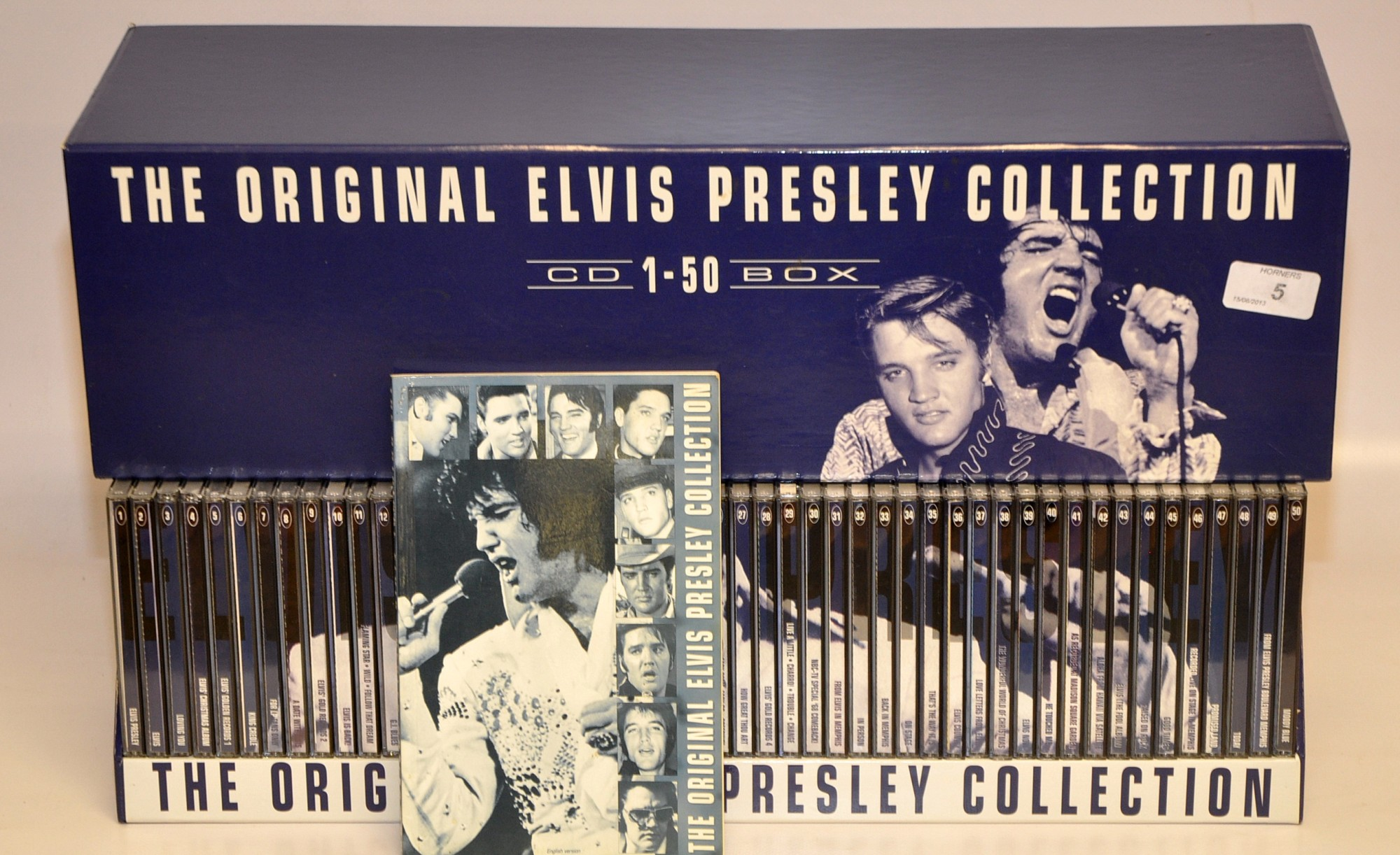 THE ORIGINAL ELVIS PRESLEY COLLECTION 50 CD BOX SET WITH BOOK
