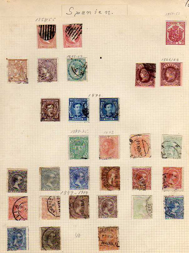 Lot 16 - FOREIGN COLLECTION ON LEAVES IN FIVE LARGE BINDERS, RUSSIA, ROMANIA, HUNGARY, CZECH, FRANCE AND