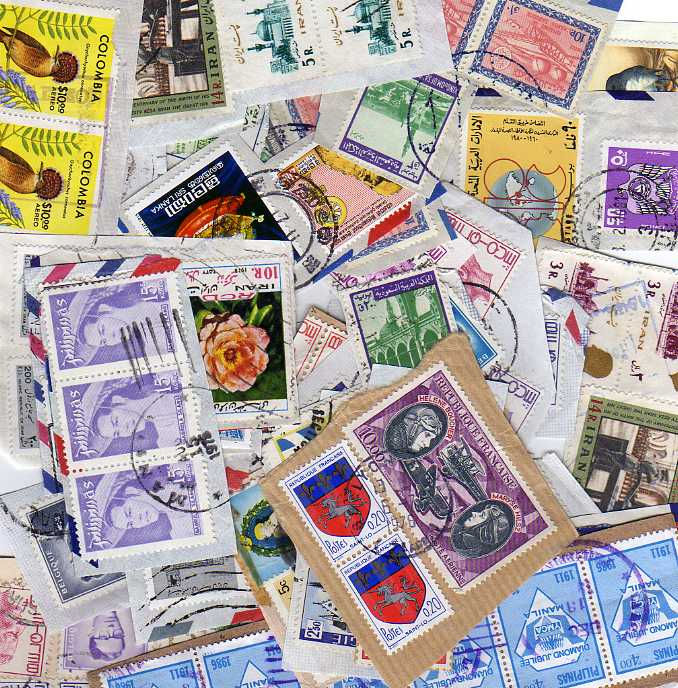 Lot 28 - BOX OF ALL WORLD LOOSE STAMPS, SOME SORTED INTO COUNTRIES (MANY 1000`S)