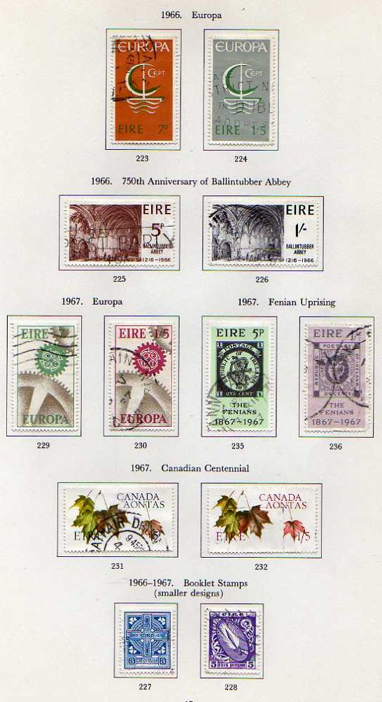 Lot 55 - LARGE BOX OF VARIOUS IN ELEVEN ALBUMS, SG. ALBUMS WITH COLLECTIONS OF IRELAND, NEW ZEALAND,