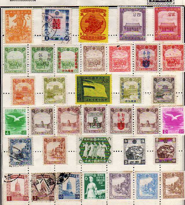 Lot 58 - GENERAL COLLECTION IN ALBUM AND LOOSE, WITH A RANGE OF UNUSED MANCHURIA (SEV 100`S)