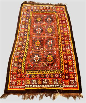 Uzbek Julkhyr Sleeping Rug Uzbekistan Early Mid 20th Century 10ft