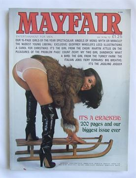 Adult magazine and mayfair