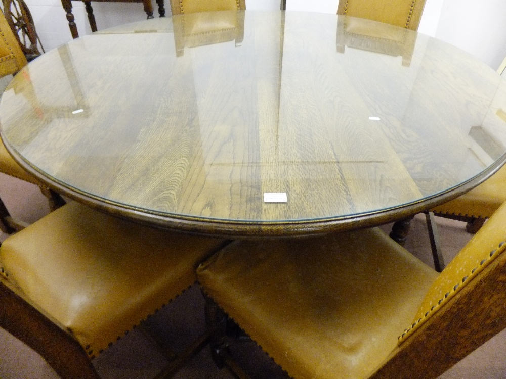 Restaurant Furniture Zimbabwe : A large oak dining table by adam bede furniture zimbabwe