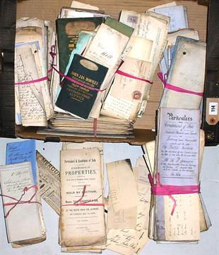 Image result for box of attic documents images