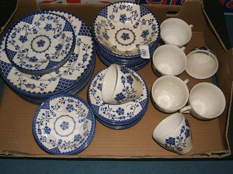A quantity of English Ironstone Tableware in \'Romance\' pattern ...