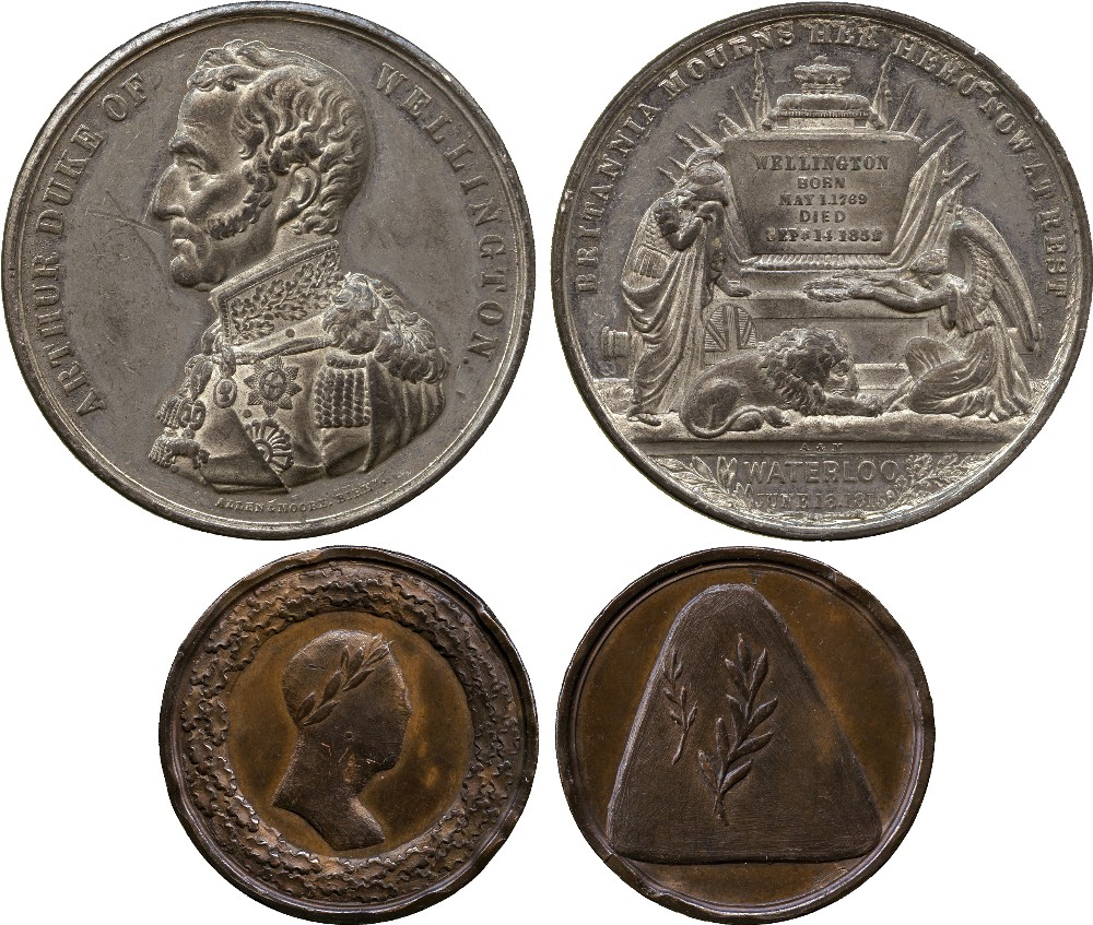 COMMEMORATIVE MEDALS. BRITISH MEDALS. Arthur, Duke of Wellington (1769-1852), Peace in Europe,