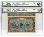 BANKNOTES, CHINA - REPUBLIC, GENERAL ISSUES Market Stabilisation Currency Bureau: 20-Coppers (2),