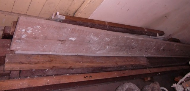 Lot 17 - A quantity of mahogany and teak Planks, various sizes. (a lot)