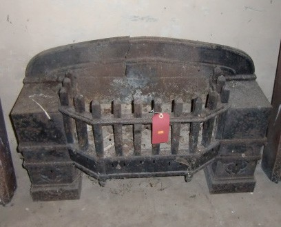 Lot 27 - A heavy antique iron Fire Grate. (1)