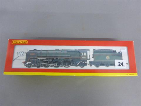 Boxed Hornby Super Detail OO gauge R2207 BR 4-6-2 Britannia
