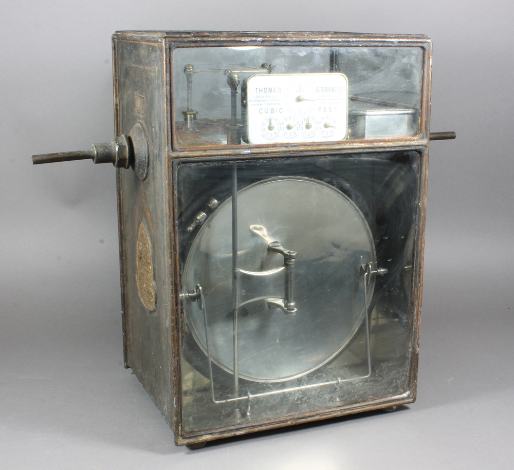 Dry Gas Meter : A thomas glover co dry gas meter no