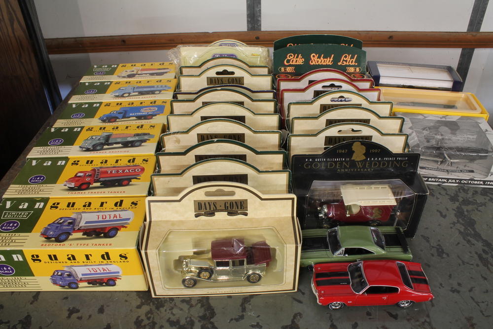 6 Vanguard model commercial vehicles and a collection of other ...