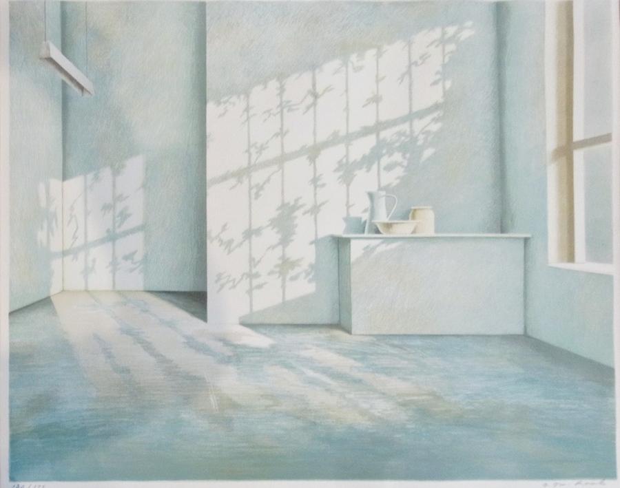 Olivier Raab Sunlight In A Blue Room