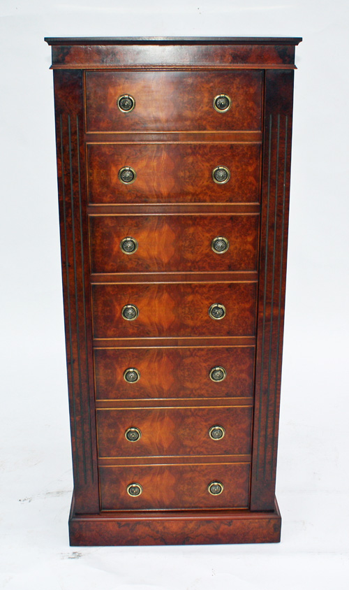 Lot 1   21st CENTURY ANTIQUES A `MODEL No. 301 THE WELLINGTON IN WALNUT