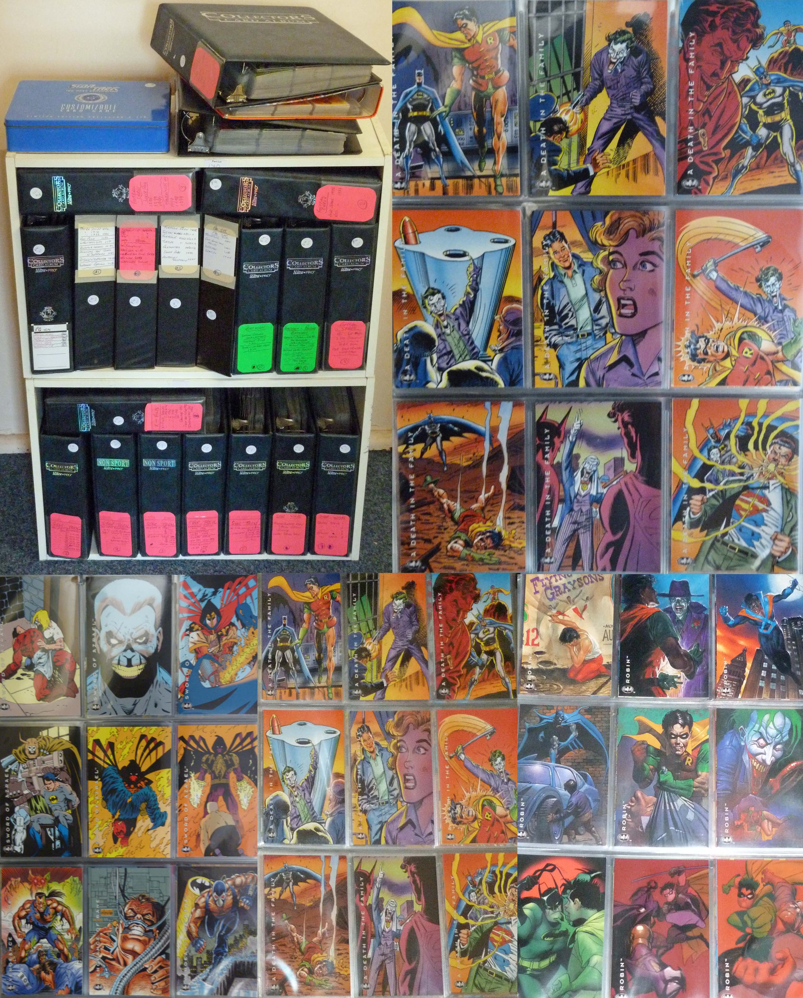 Lot 309 - A large collection of trading cards majority from the 1990s, various sets from sport, film, TV and