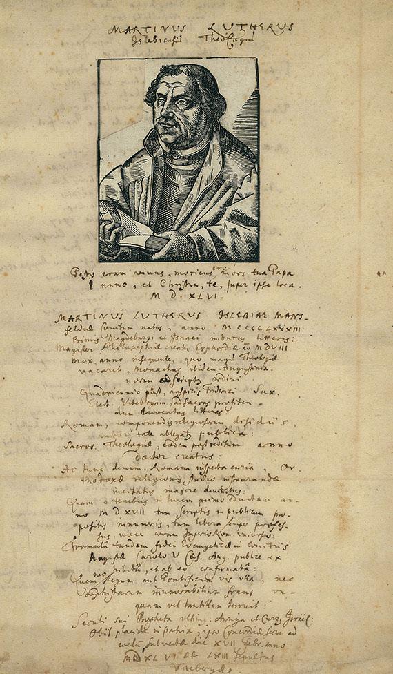 lebenslauf von luther 16 jh manuskripte - Martin Luther Lebenslauf