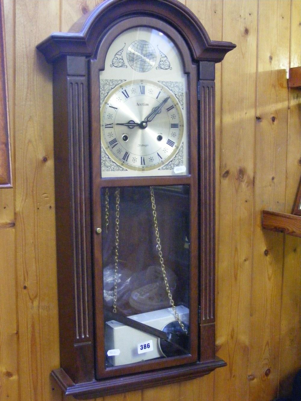 An acctim 31 day wall clock lot 386 an acctim 31 day wall clock amipublicfo Choice Image