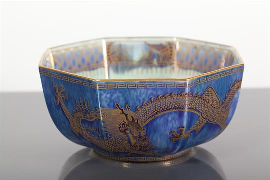 Dating wedgwood lustre ware blue fin