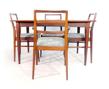 Dining Room Chairs Heals richard hornby for heals, a teak extending dining table, max l. 262