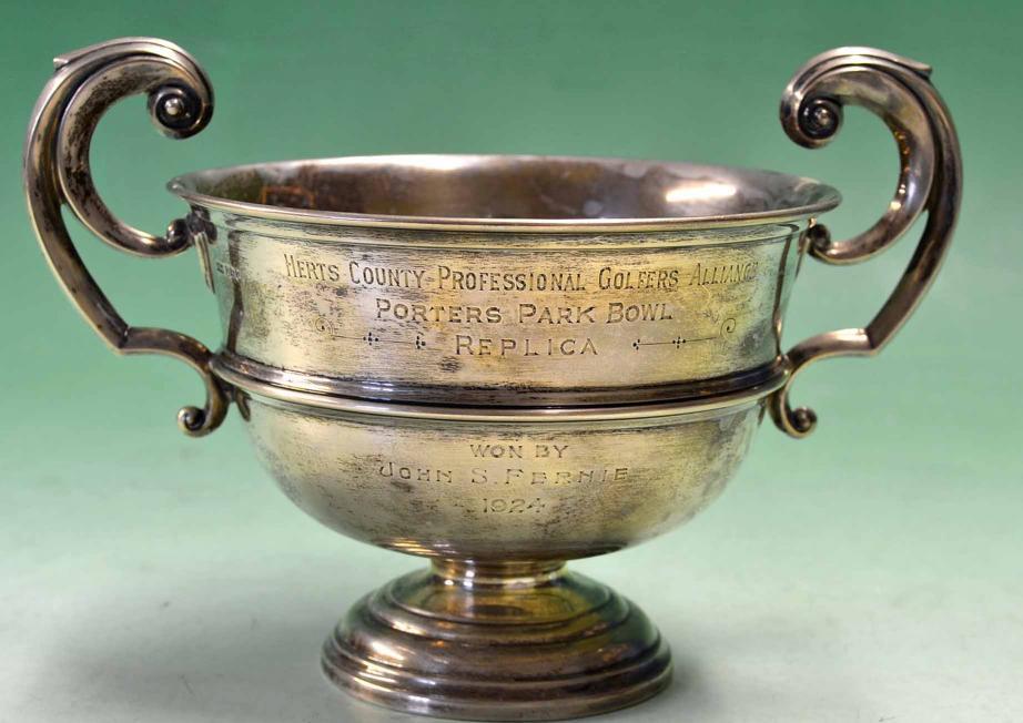 Lot 854 - John Sinclair Fernie - Golf Professional b. Beith 1890 assistant to William Fernie at Glamorganshire
