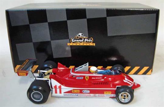An Exoto Grand Prix Classics Ferrari 312T4 Jody Scheckter, 1:18