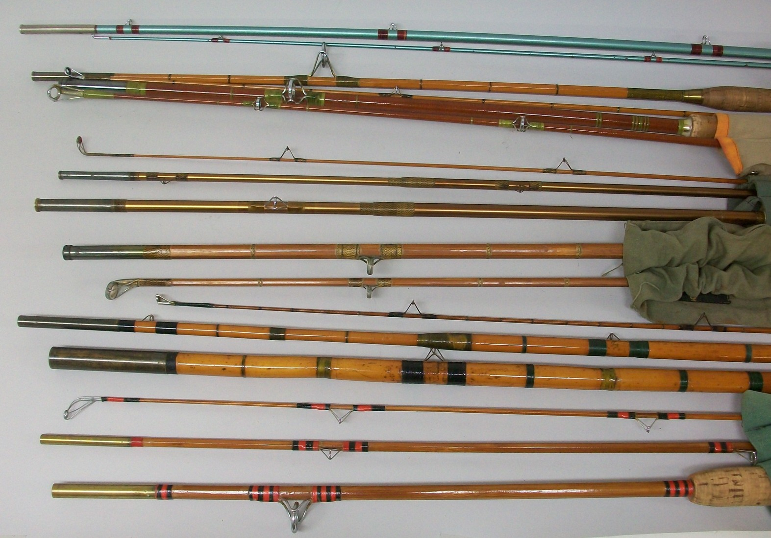 Antique fishing rods for Vintage fishing rods