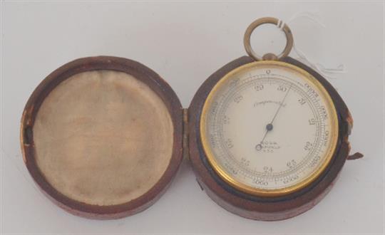 Pocket barometer compensated dating