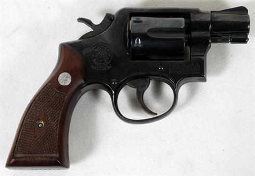 SMITH & WESSON, 38 SPECIAL, SNUB NOSE REVOLVER, #C-71403
